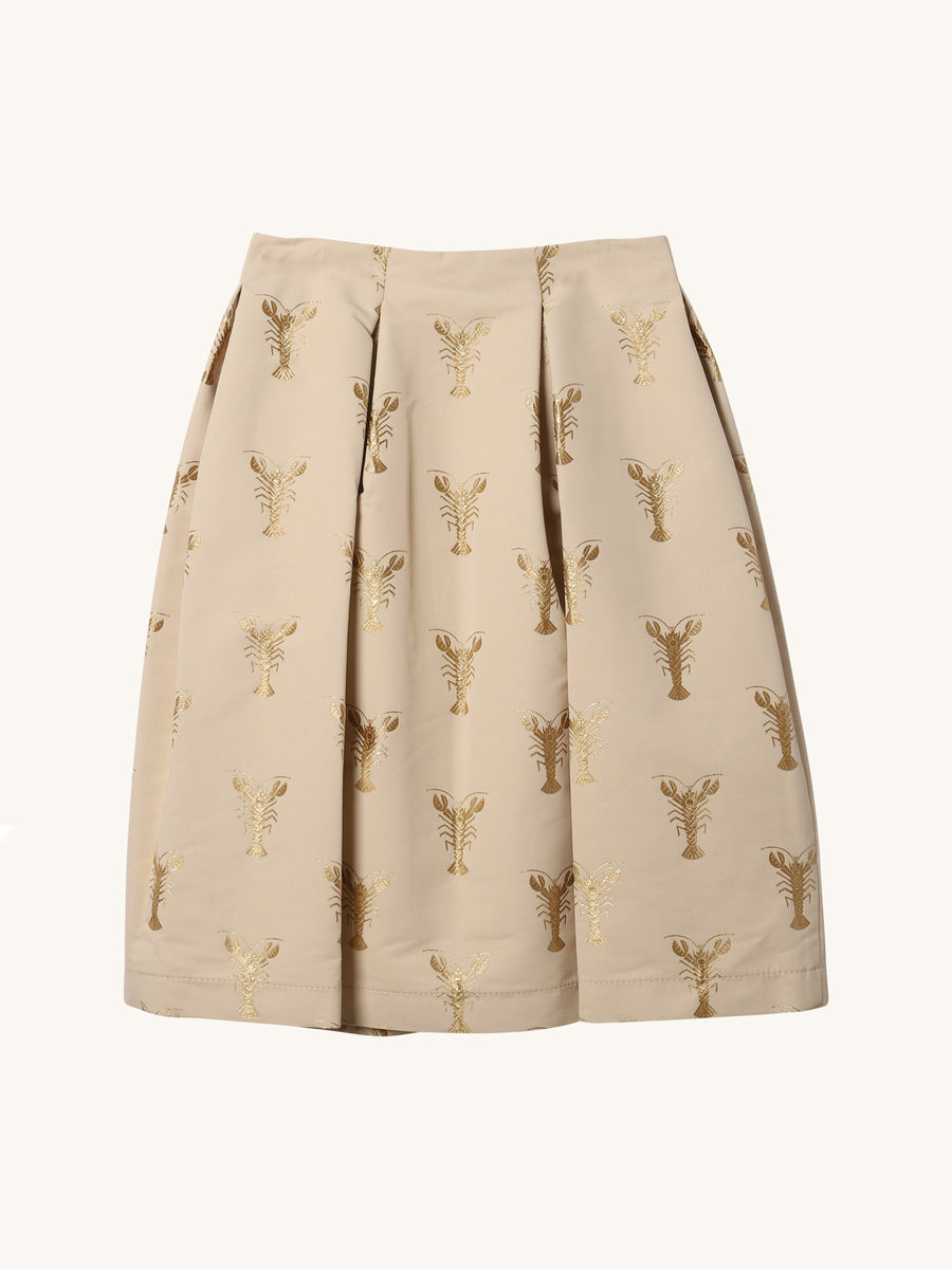 Lobster Print Skirt