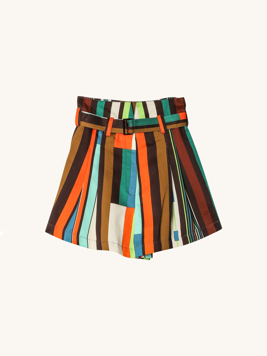 Bay Multi Stripe Shorts