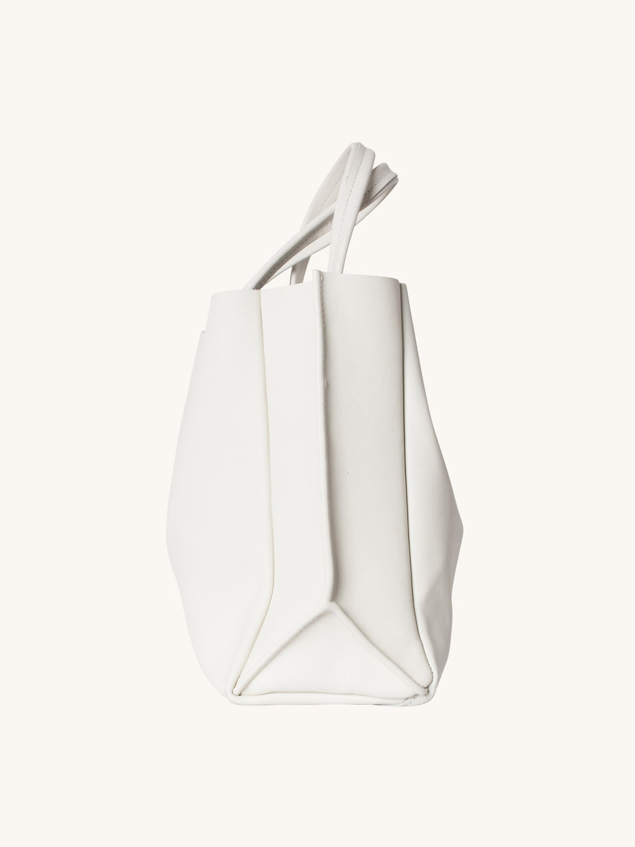 Sideways Tote in Star White