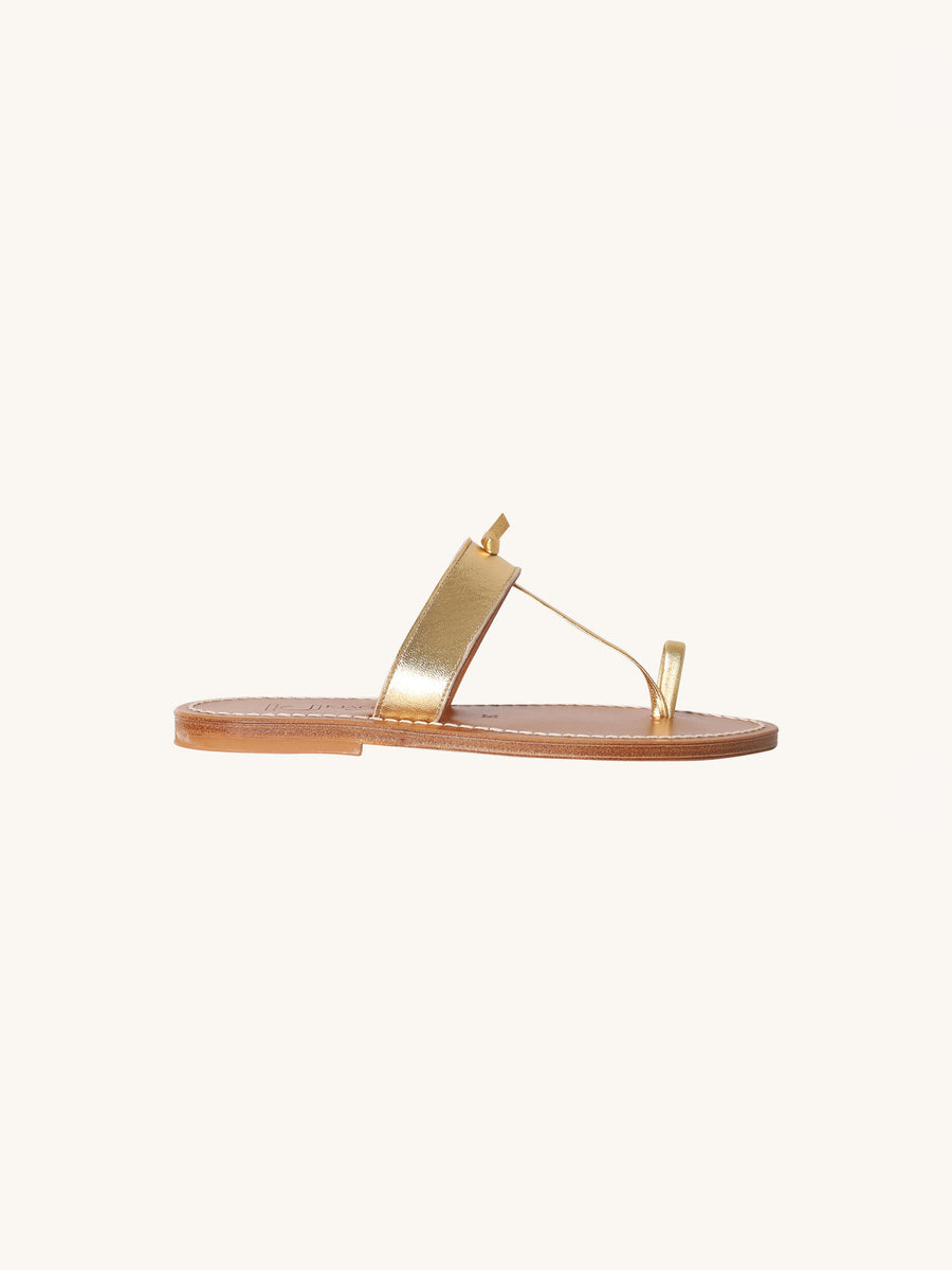 Ganges Sandal in Gold