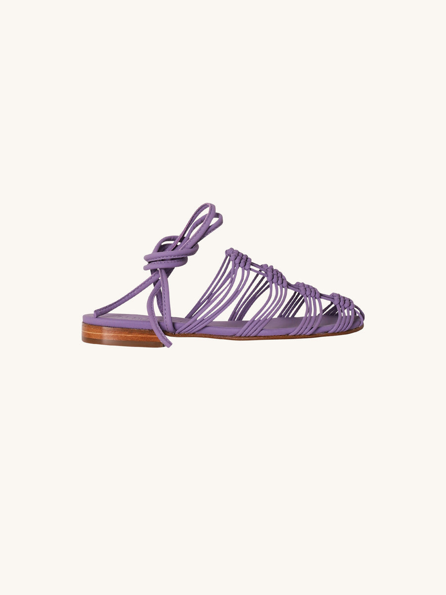 Eularia Sandals in Purple