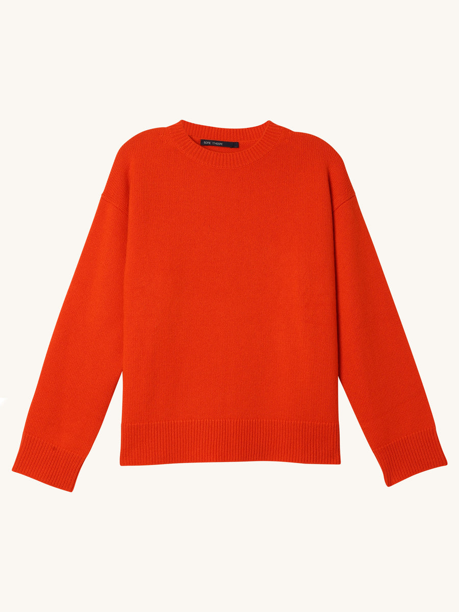 Milla Sweater in Orange