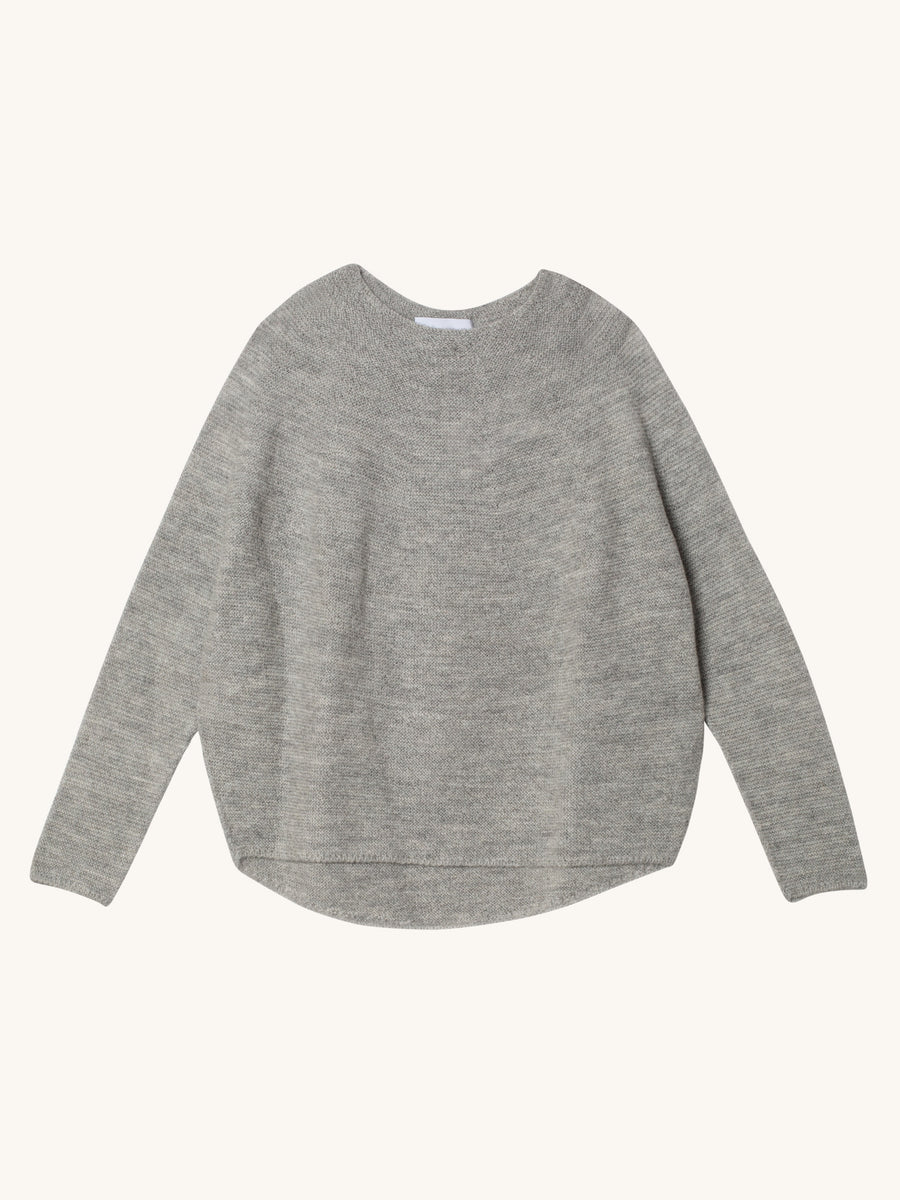 Kaeli Sweater in Light Grey