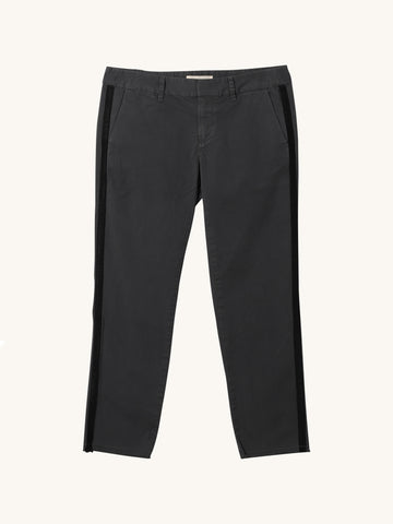 East Hampton Pant in Charcoal