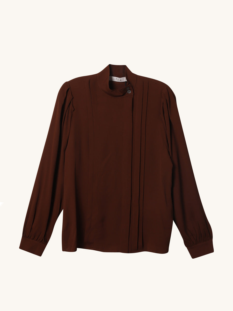Ghirlanda Top in Brown