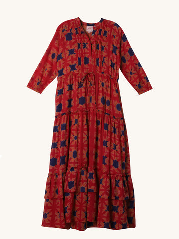 Shibori Bazaar Dress