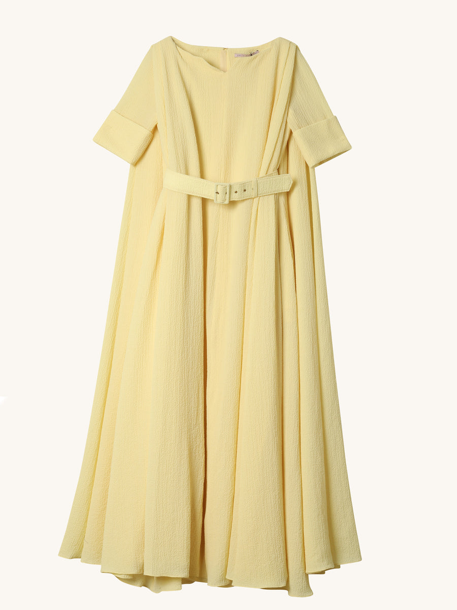 Janelle Dress in Lemon
