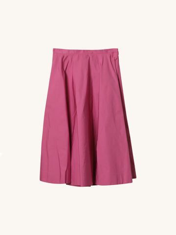 Fuschia Midi Skirt