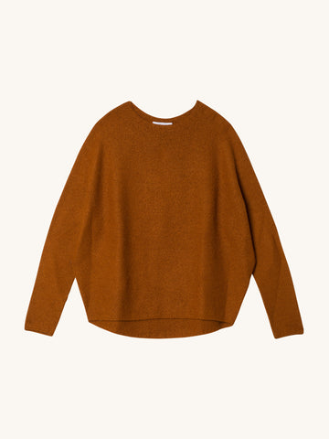 Kaeli Sweater in Rust