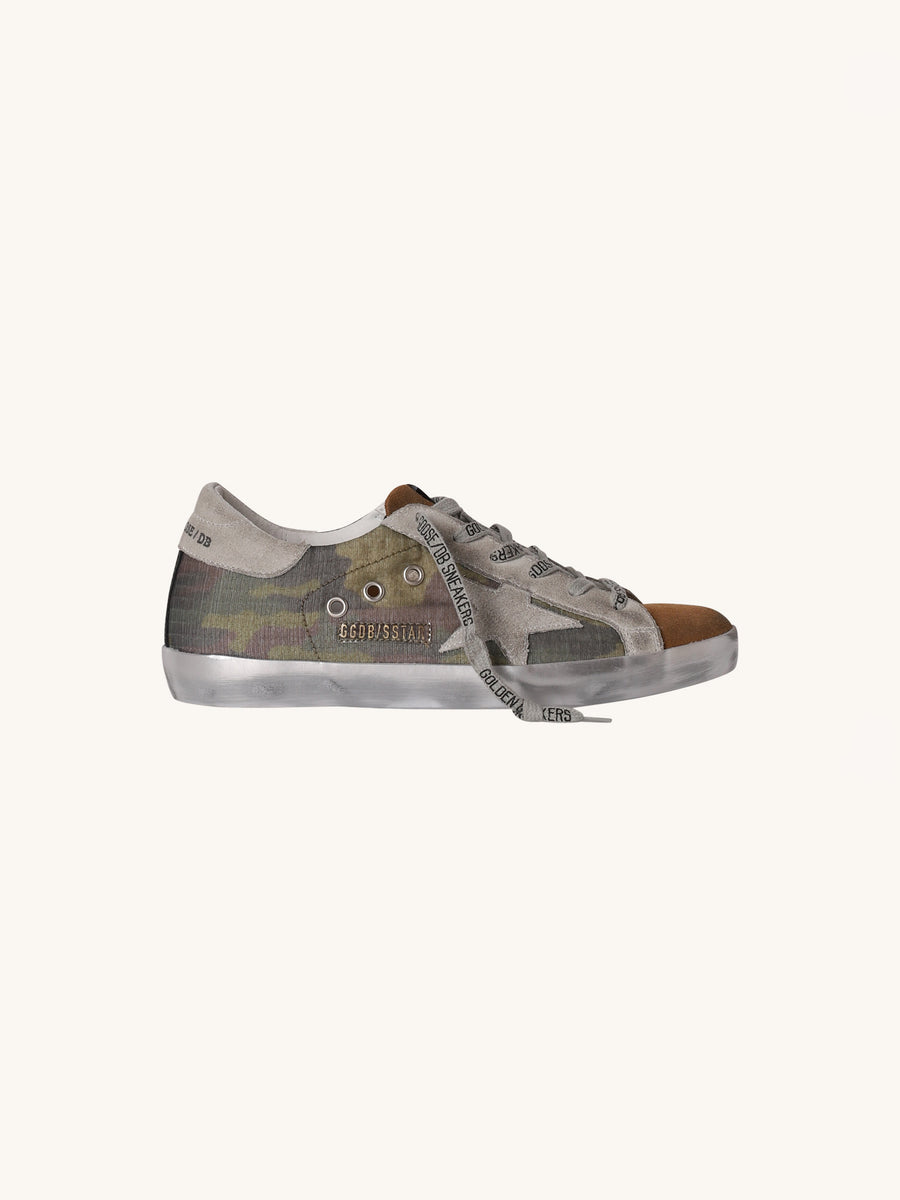Superstar Sneaker in Camo