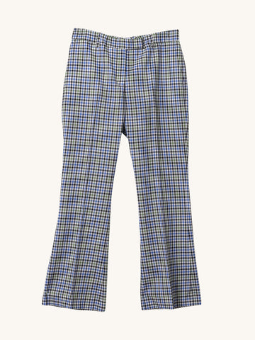 Nellie Pant in Princess Blue Check