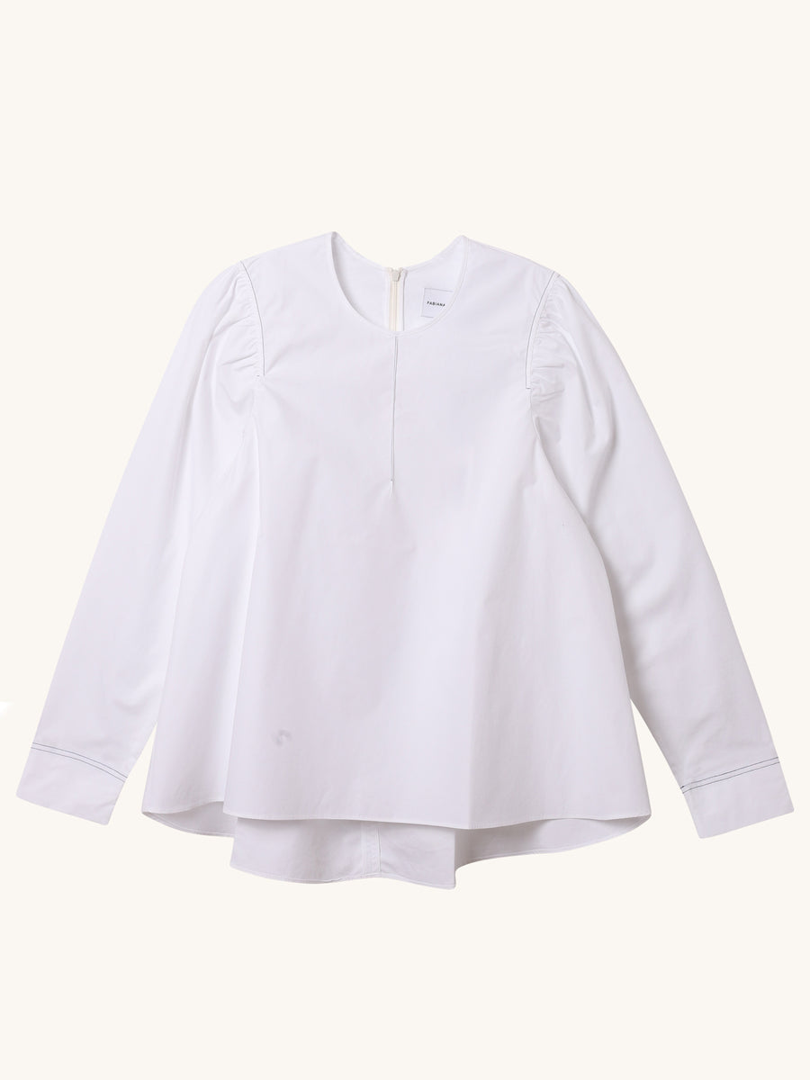 Inma Top in White
