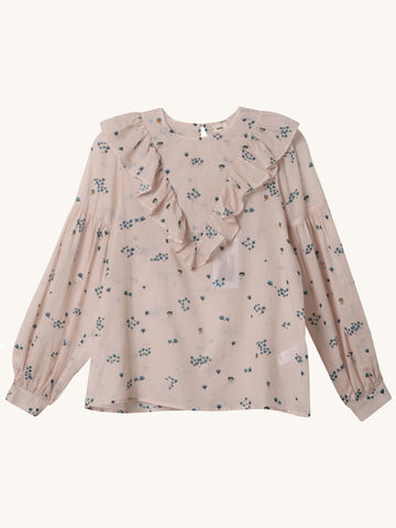 Penelope Blouse in Pale Pink