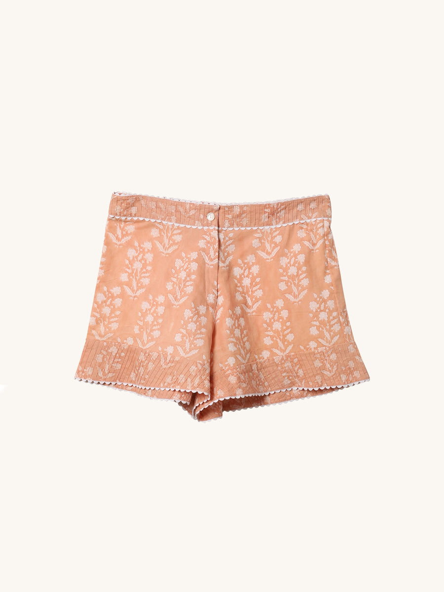 High Waisted Short in Peach