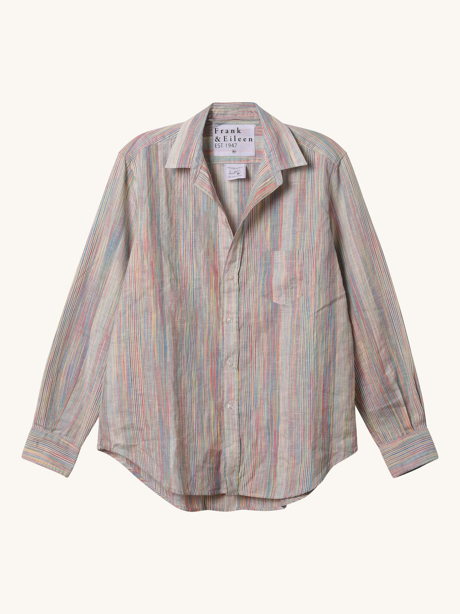 Linen Eileen Shirt in Rainbow