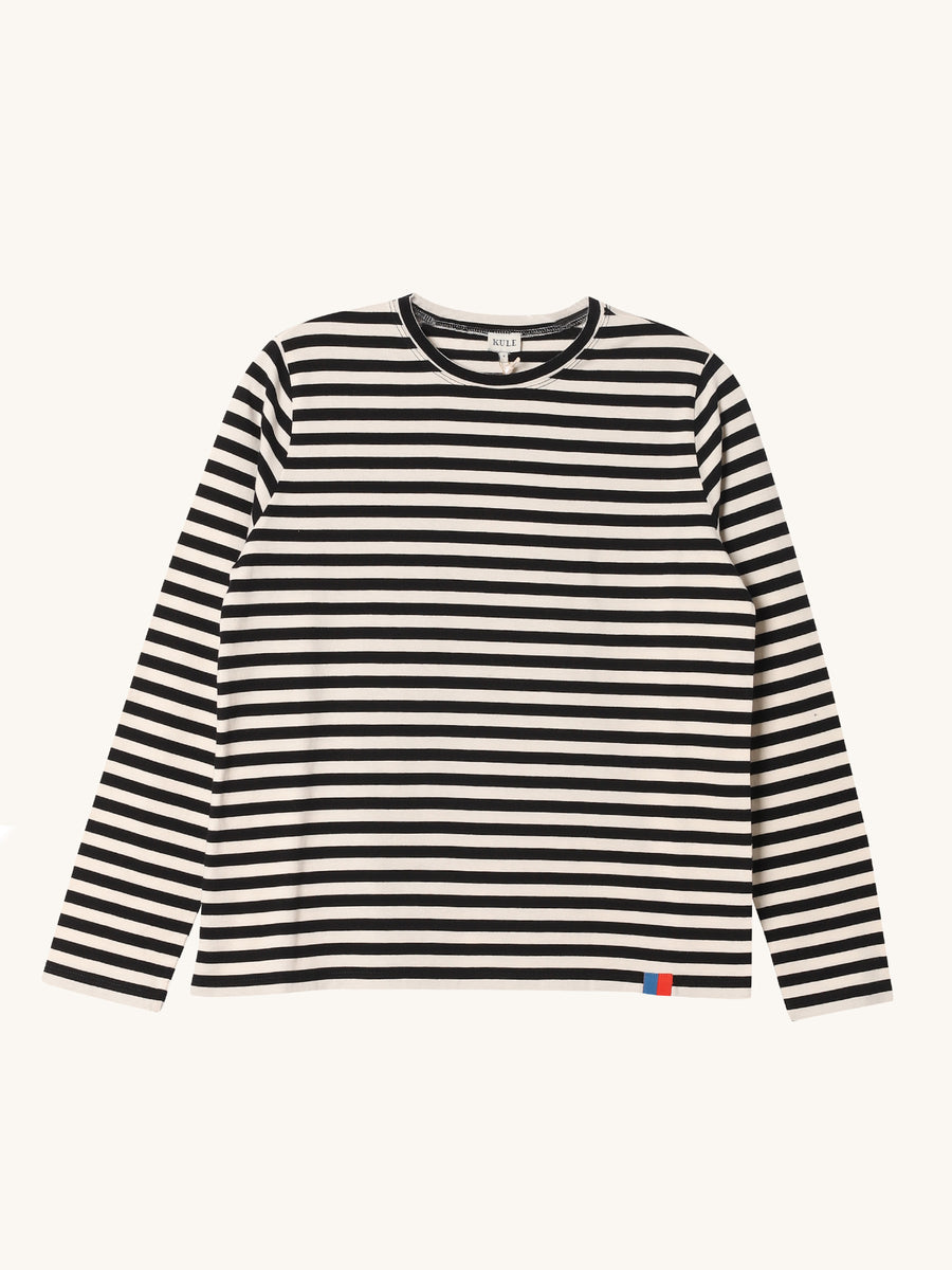 Long Modern Stripe Tee
