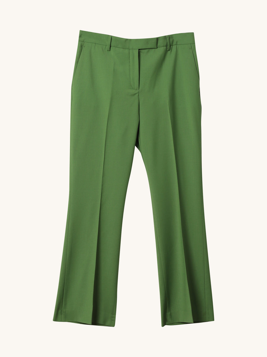 Nellie Pant in Herbal Green