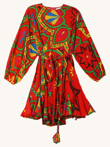 Ella Dress in Uzbek Print