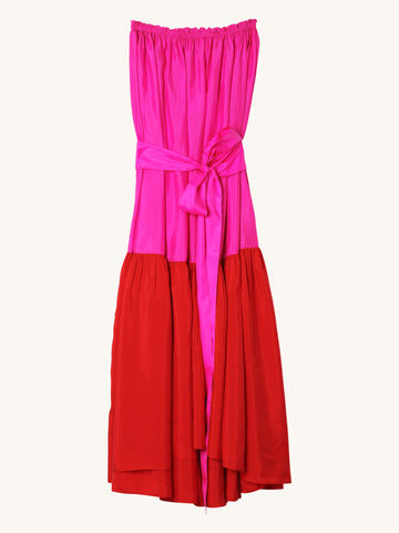 Maaya Colorblock Maxi Dress
