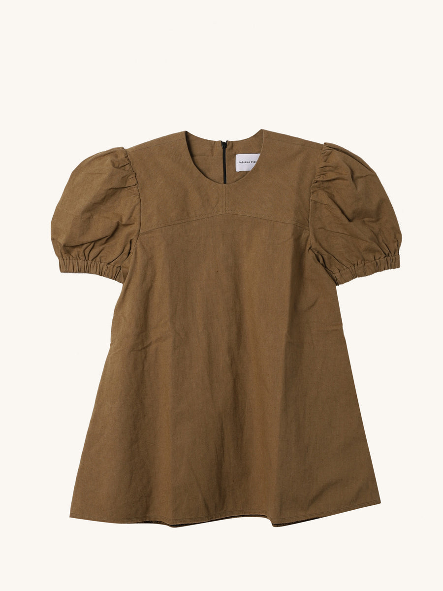 Prisca Shirt in Camel