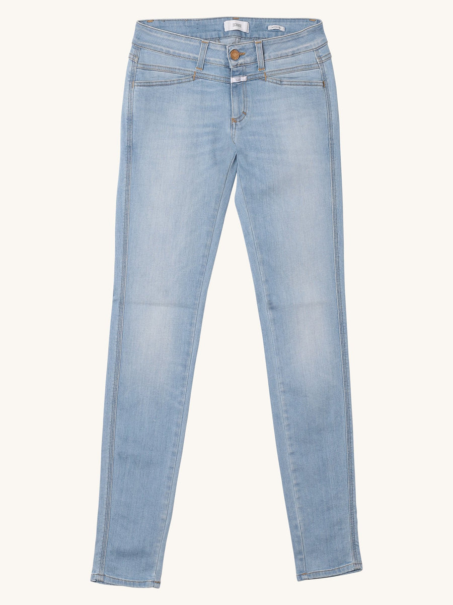 Pedal Star Jean in Light Blue