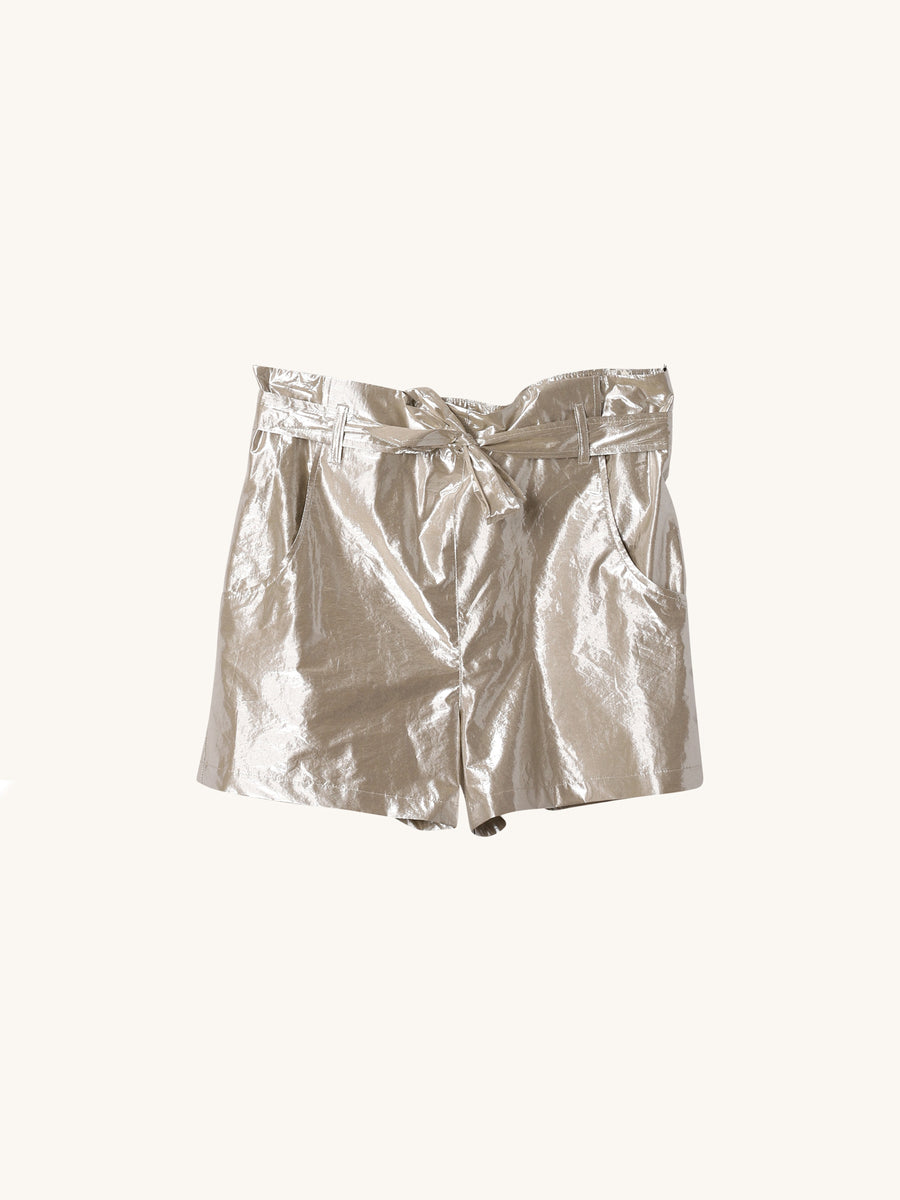Metallic Tie Short