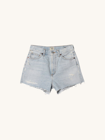 Kristen Hi Rise Shorts in Forget