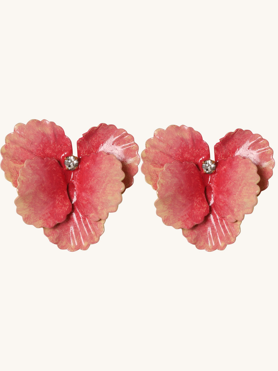 Penelope Earrings in Rose