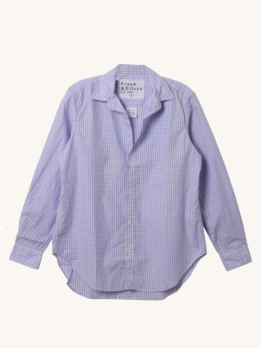 Frank Grid Shirt in Pink & Blue