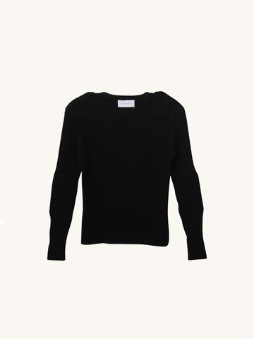 Major Tom Knit in Black