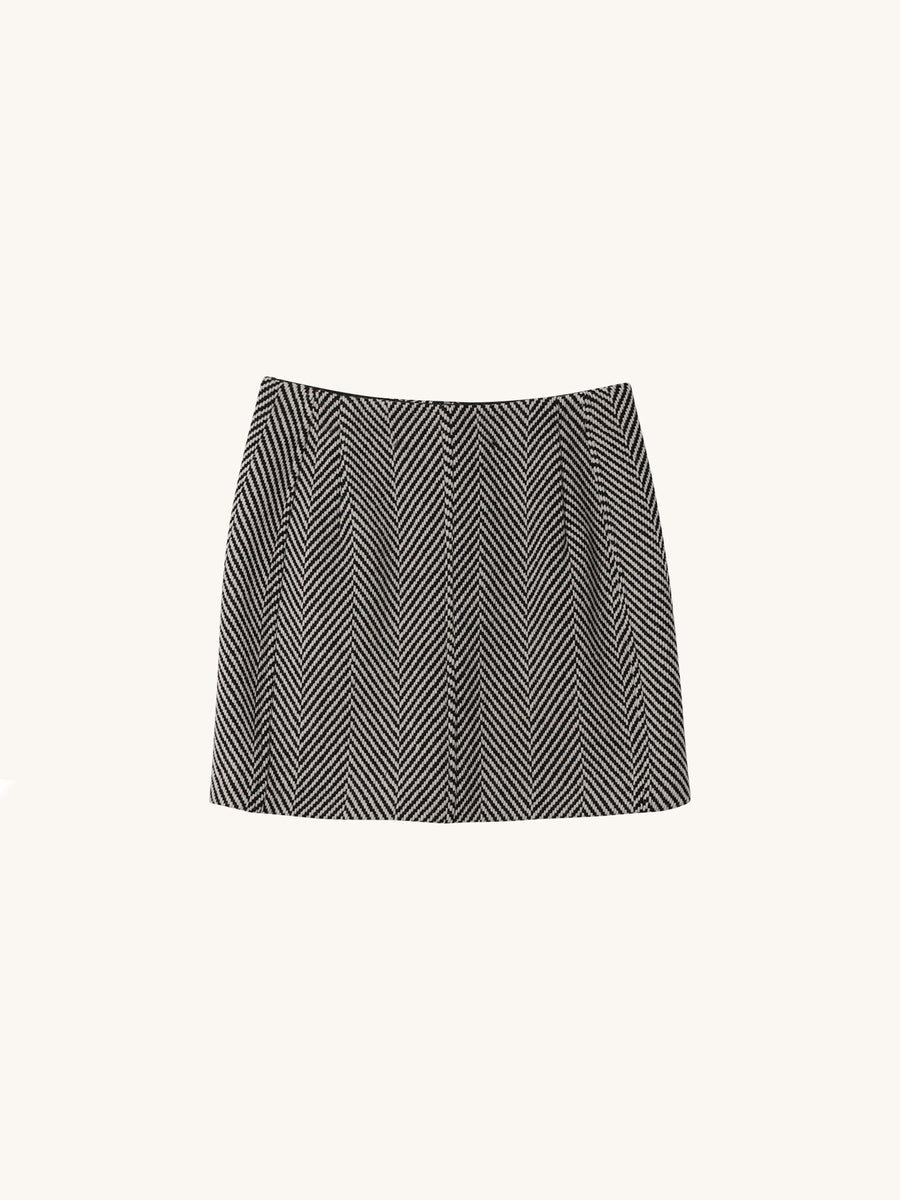 Ritratto Skirt in Grey