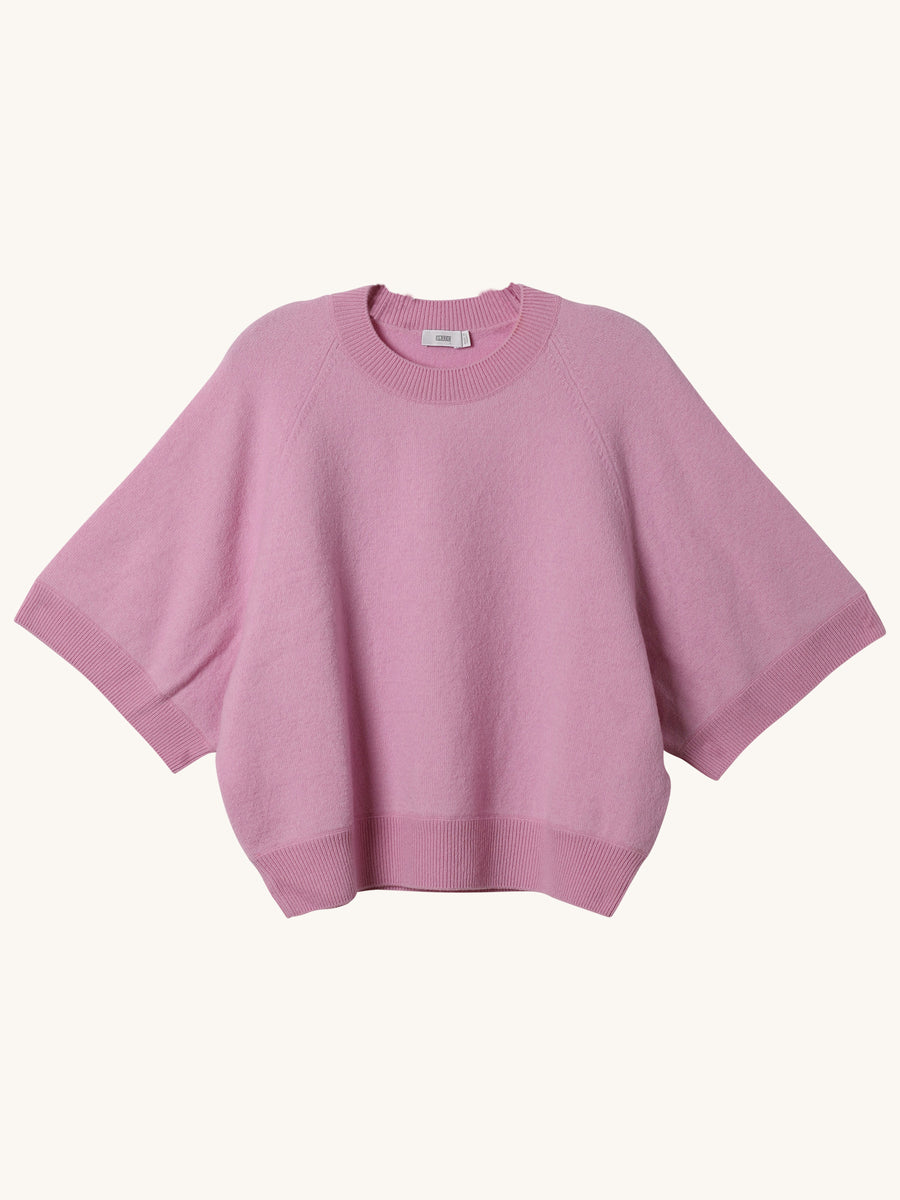 Short Sleeve Knit in Pink