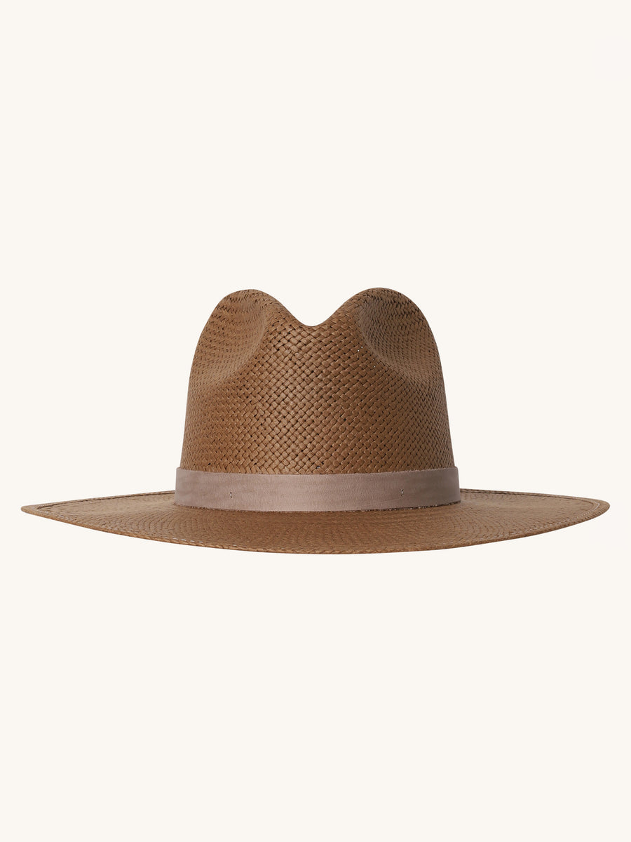 Adriana Hat in Brown