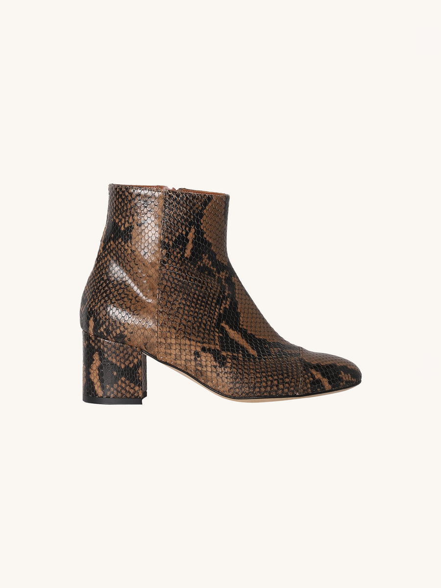 Python Low Ankle Boot