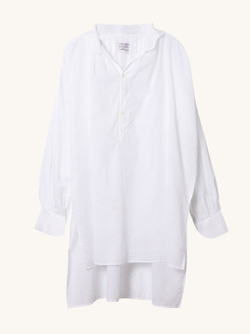 White Sheer Voile Tunic