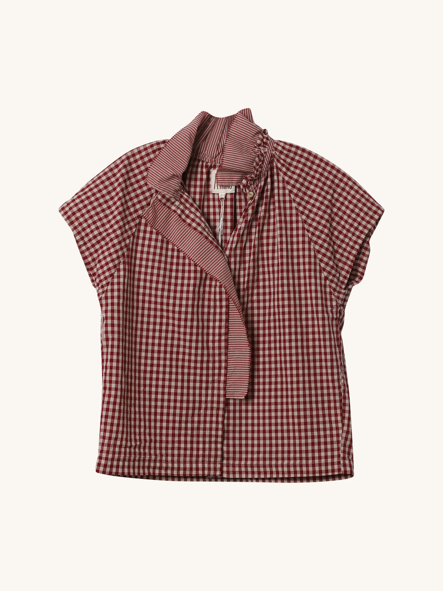 Stella Gingham Top