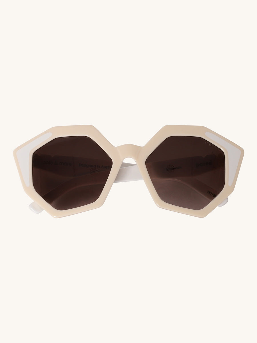 Sole & Mar Sunglasses in Ivory & White