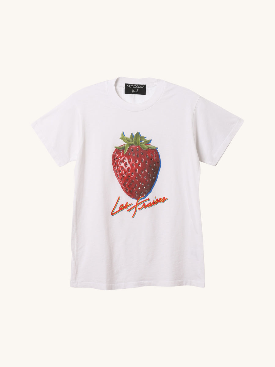 Jeweled Strawberry Tee