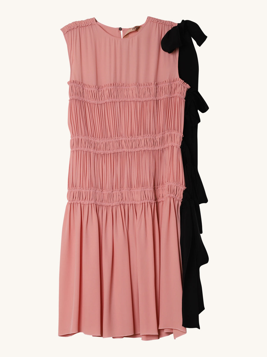 Sleeveless Dress in Pink