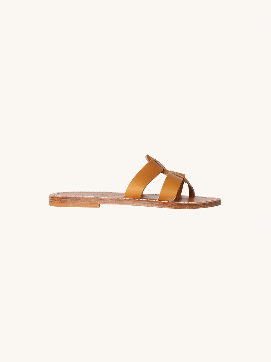 Montauk Sandal in Naturel