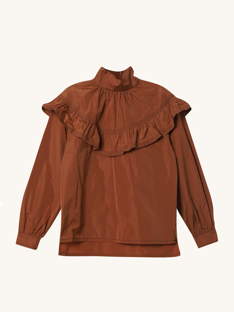 Vacanza Top in Tobacco