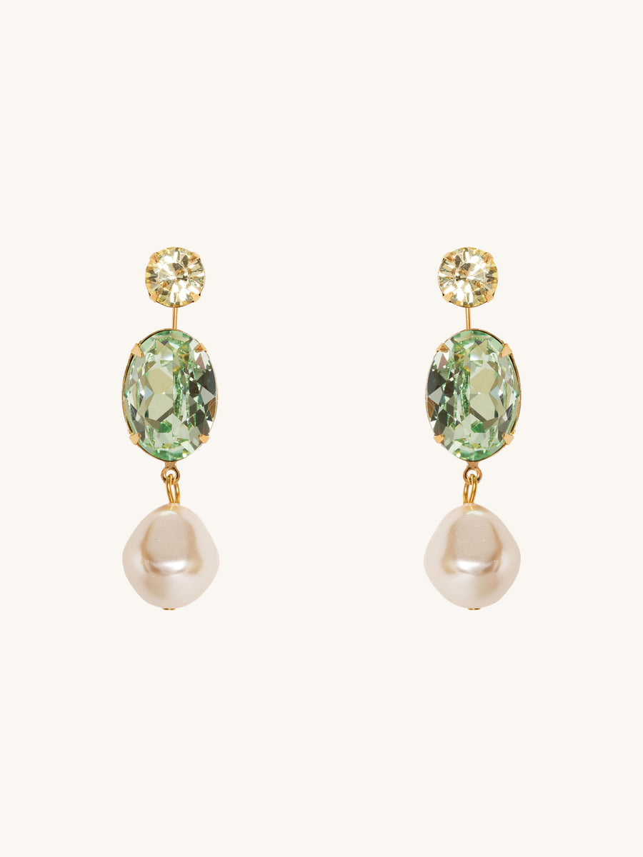 Meredith Earrings in Jonquil