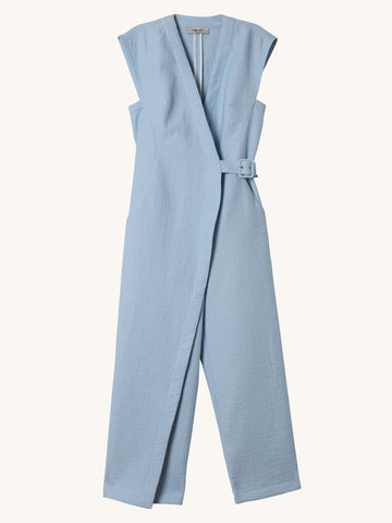 Steadfast Jumpsuit in Sky Blue