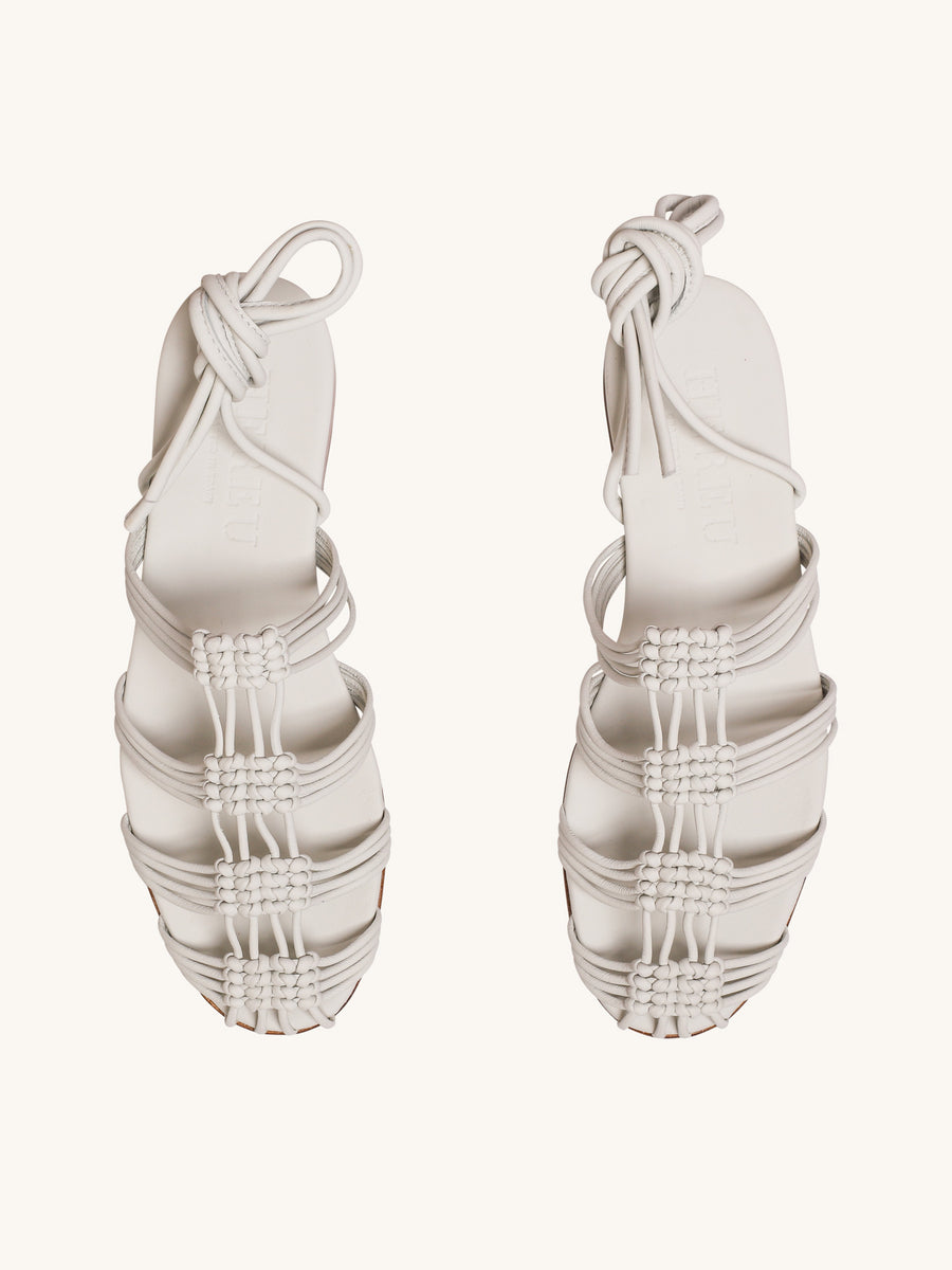 Eularia Sandals in Salt