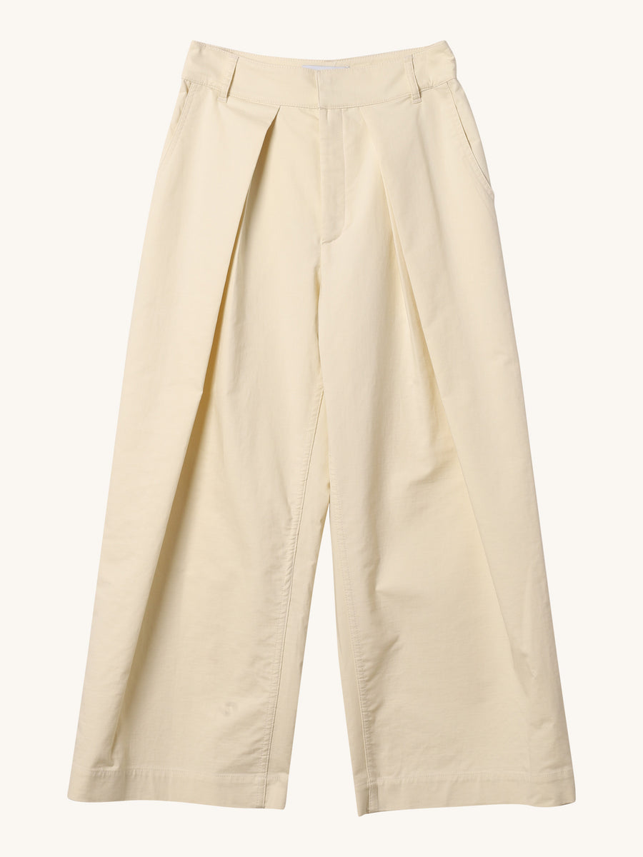 Pikeli Pants in Cream