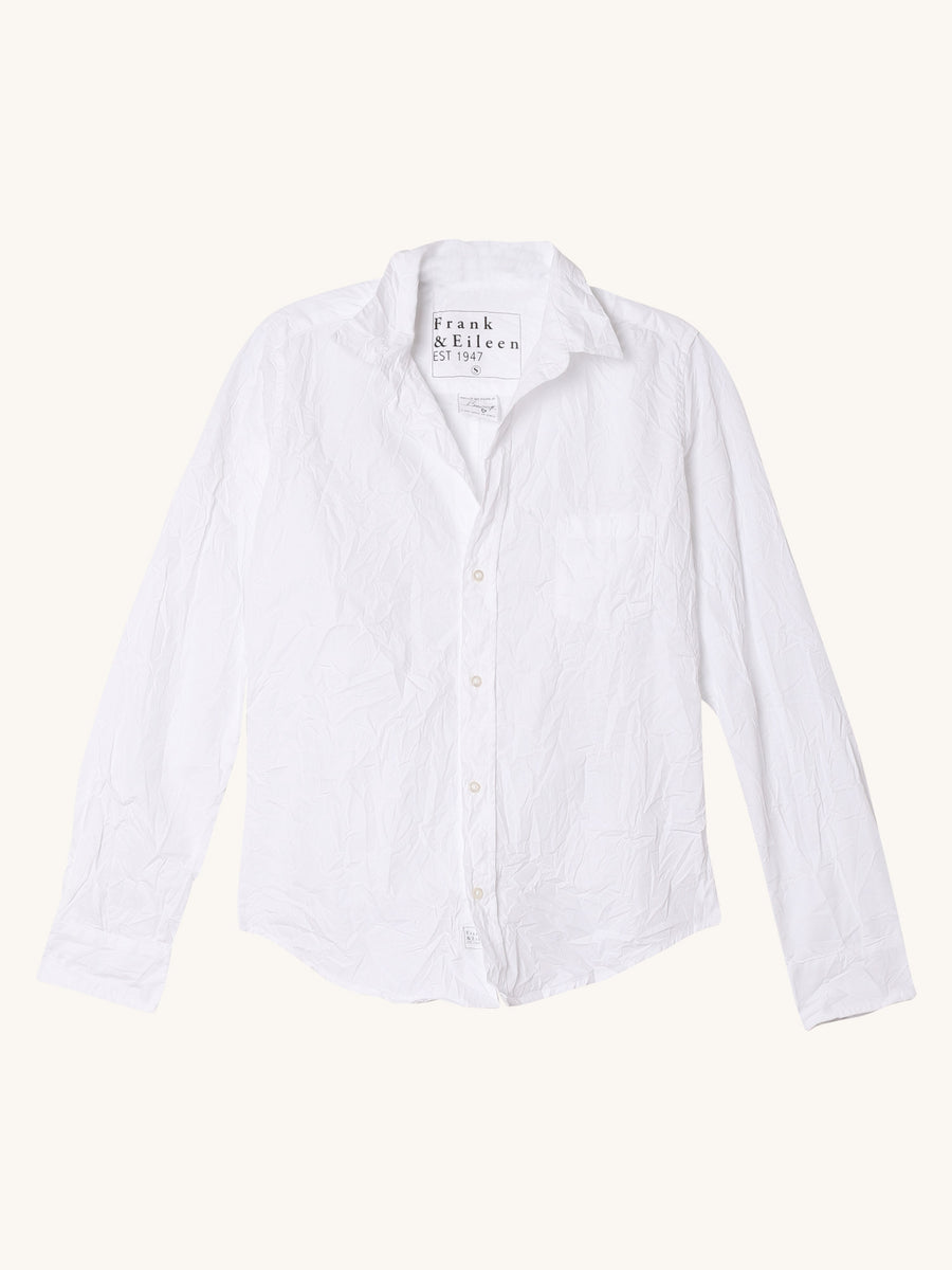 Poplin Barry in White