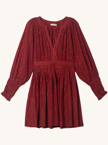 Rory Dress in Ruby