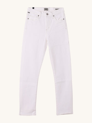 Harlow Ankle Slim Jean in Sea Salt