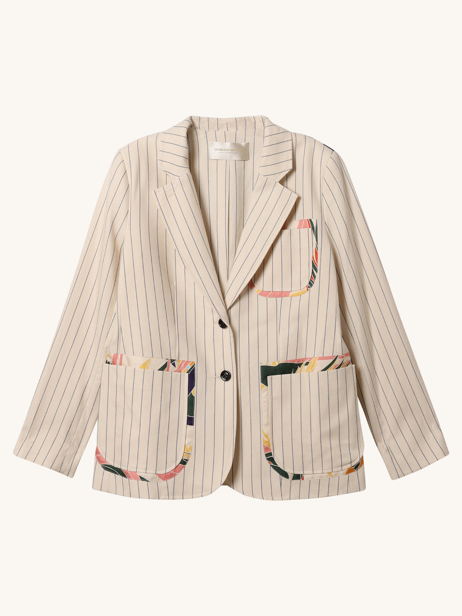 Patched Pocket Blazer