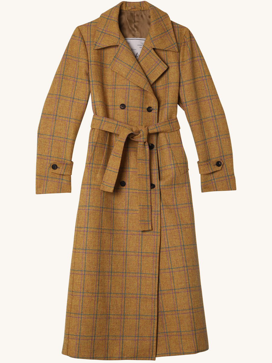 Christie Wool Trench Coat